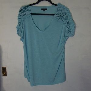 LANE BRYANT half sleeve casual top